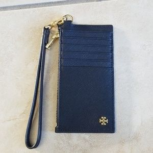 *EUC* Tory Burch York Zip Card Case